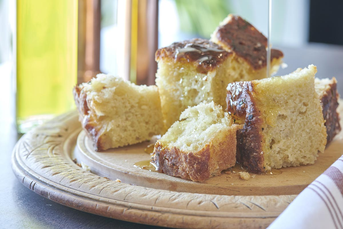 Savory Sweet Bread With Honey Dessert
